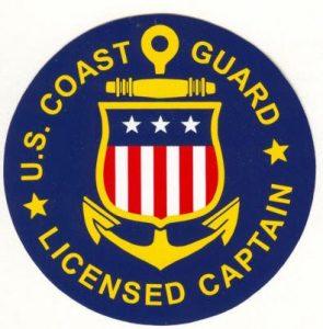 USCG Licensed Captain